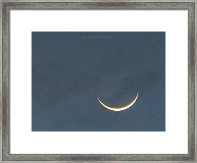 Smile In Sky Framed Print by Sonali Gangane