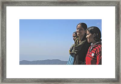 Smile Framed Print by Russell Smidt