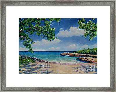 Smith Cove 16x23 Framed Print by John Clark