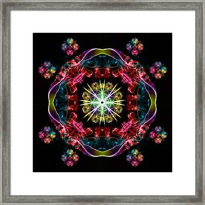 Smoke Art 125 Framed Print by Steve Purnell