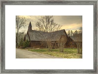 Smokey Mountain Love Chapel 1 Framed Print by Douglas Barnett
