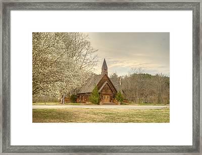 Smokey Mountain Love Chapel 3 Framed Print by Douglas Barnett