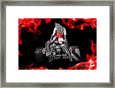 Smokin It Framed Print by Billy Posters