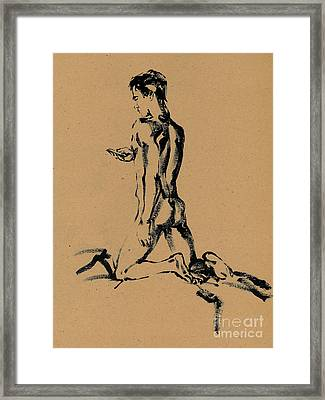 sms Framed Print by Konstantin Boreo