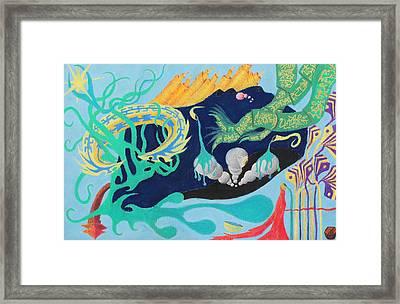 Snail Thing Framed Print by Maxwell Hanson