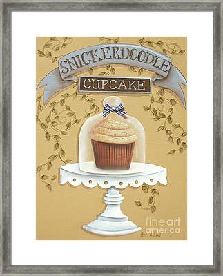 Snickerdoodle Cupcake Framed Print by Catherine Holman