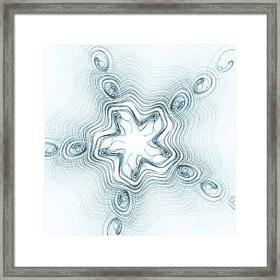 Snow Angel Framed Print by Anastasiya Malakhova
