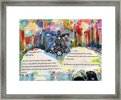 Snow Angels Framed Print by Niya Christine