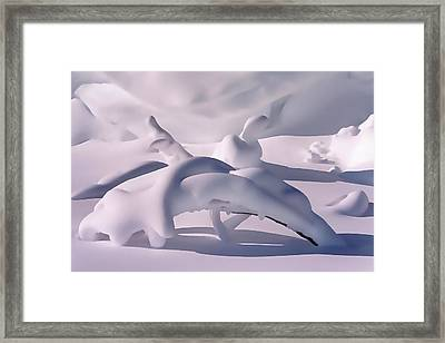 Snow Drift Fantasy Framed Print by Terril Heilman