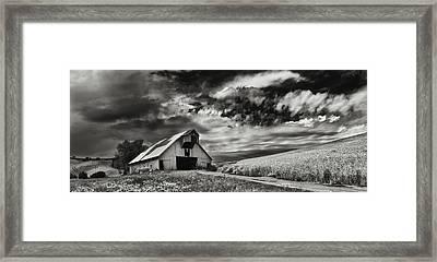 a used Barn Framed Print by Latah Trail Foundation