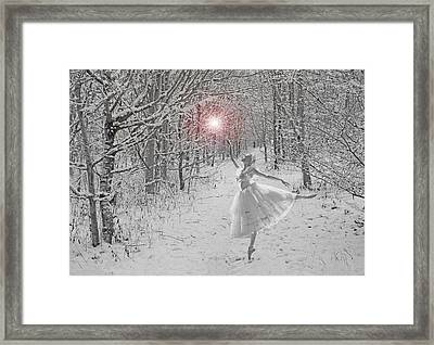 Snow Queen Framed Print by Mike Paget