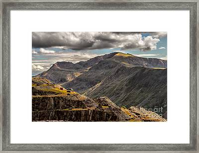 Snowdonia Framed Print by Adrian Evans