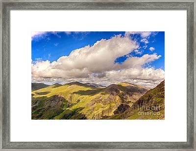 Snowdonia Framed Print by Jane Rix