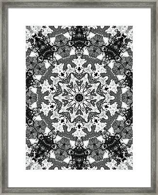 Snowflake Framed Print by Dan Sproul