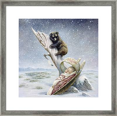 Snowflake Framed Print by Gregory Perillo