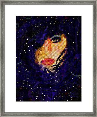 Snowy Night Framed Print by Natalie Holland
