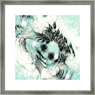 Snowy Owl Framed Print by Anastasiya Malakhova