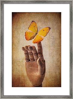 So Alive Framed Print by Garry Gay