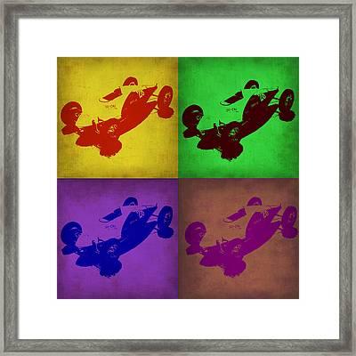 So Cal Pop Art 1 Framed Print by Naxart Studio