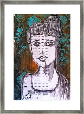 So Demure Framed Print by Kent Mullens