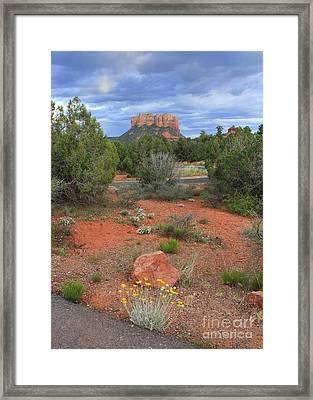 So Long Sedona Framed Print by Carol Groenen