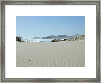 So Pristine Framed Print by Peter-hugo Mcclure