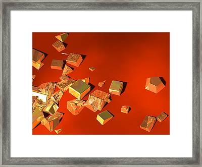 So Shiny Framed Print by Andreas Thust