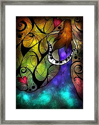 So This Is Love Framed Print by Mandie Manzano
