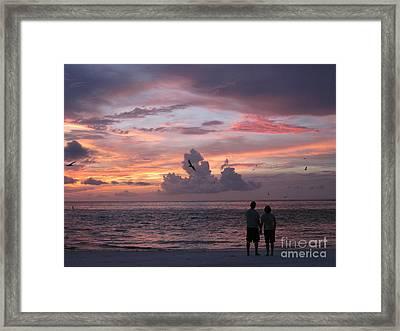 Soaring Framed Print by Elizabeth Carr