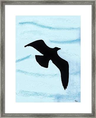 Jonathan - The  -seagull Framed Print by D Hackett