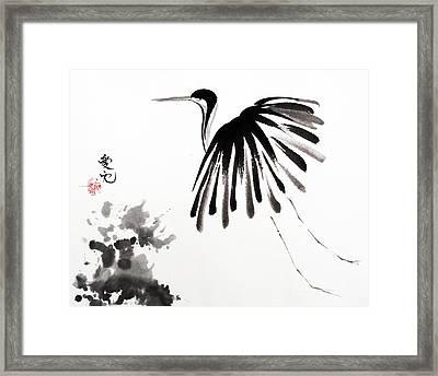 Soaring High Framed Print by Oiyee  At Oystudio