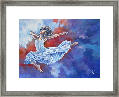 Soaring Like An Eagle Framed Print by Tamer and Cindy Elsharouni