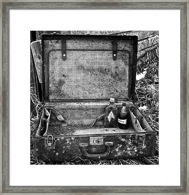 Sober Travels  Framed Print by JC Photography and Art
