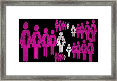 Social Responsibility 1 Part 2 Framed Print by Angelina Vick