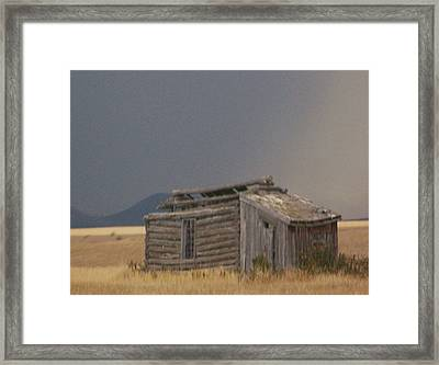Soda Springs Idaho Framed Print by Dennis Buckman