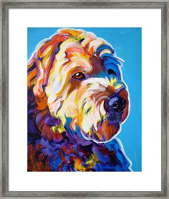 Soft Coated Wheaten Terrier - Max Framed Print by Alicia VanNoy Call
