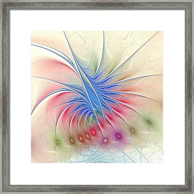 Soft Colors Framed Print by Anastasiya Malakhova