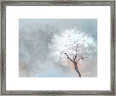 Soft Dream Framed Print by Kume Bryant