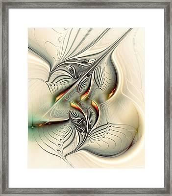 Soft Glow Framed Print by Anastasiya Malakhova