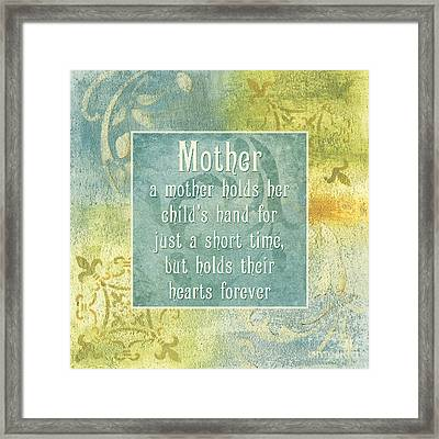 Soft Spa Mother's Day 1 Framed Print by Debbie DeWitt