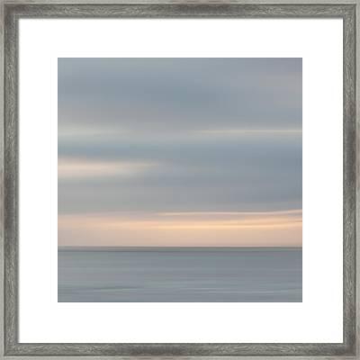 Soft Sunset La Jolla Framed Print by Carol Leigh