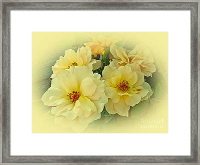 Softly And Sweetly Framed Print by Mother Nature