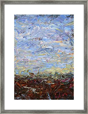 Soil Tumoil 2 Framed Print by James W Johnson