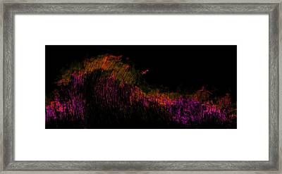 Solar Flare Framed Print by Christopher Gaston