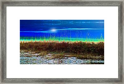 Solar Sky Framed Print by Laurel D Rund