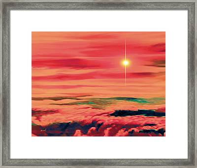 Solar Winds Framed Print by The Art of Marsha Charlebois