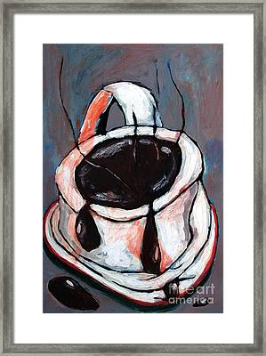 Sold-cuppa Rephotgraphed Framed Print by Charlie Spear