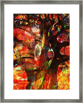 Sold Into A Forced Marriage Framed Print by Fania Simon