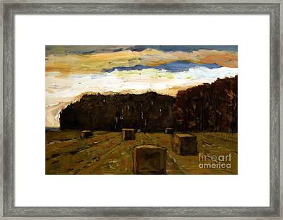 Sold Row By Row Framed Print by Charlie Spear
