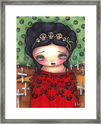Soledad Framed Print by  Abril Andrade Griffith